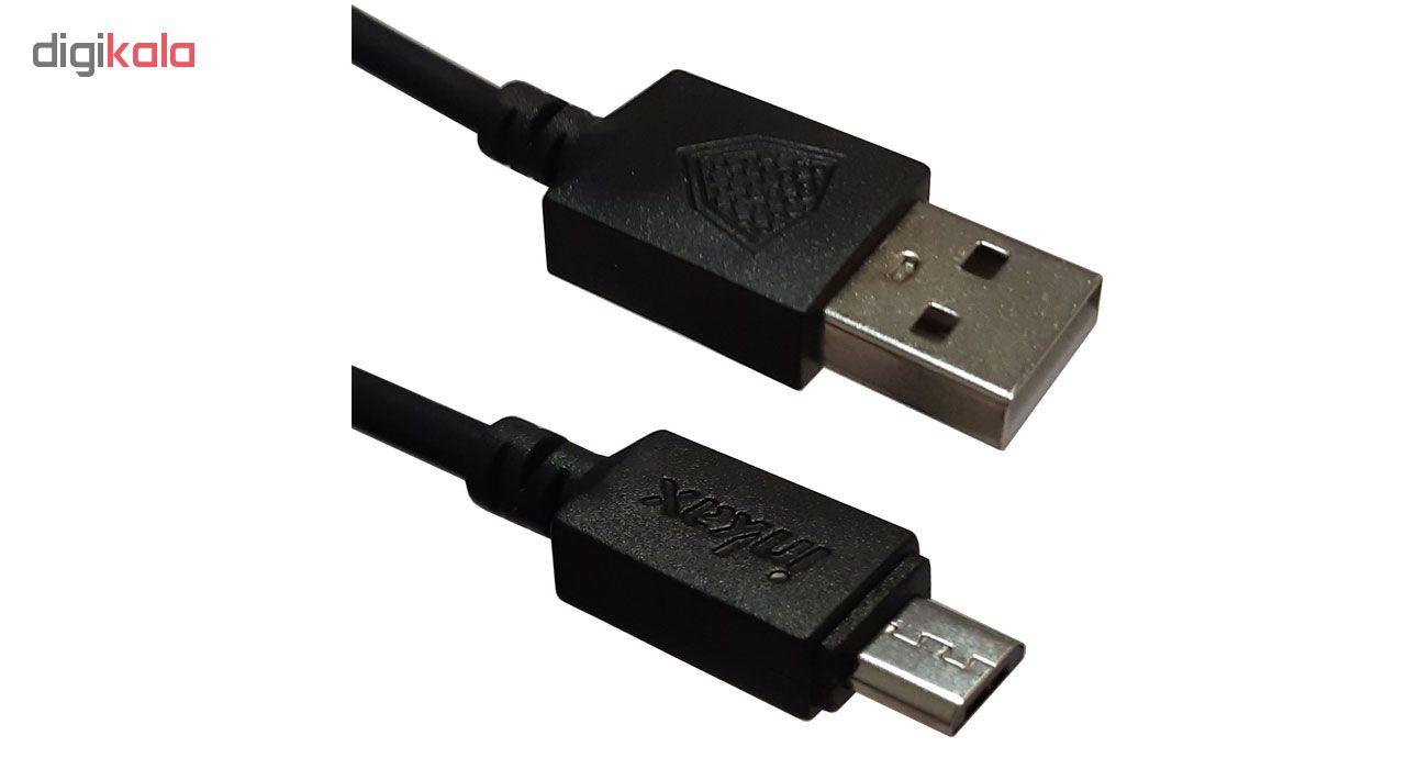 کابل تبدیل USB به MicroUSB اینکاکس مدل CK-08 طول 2 متر