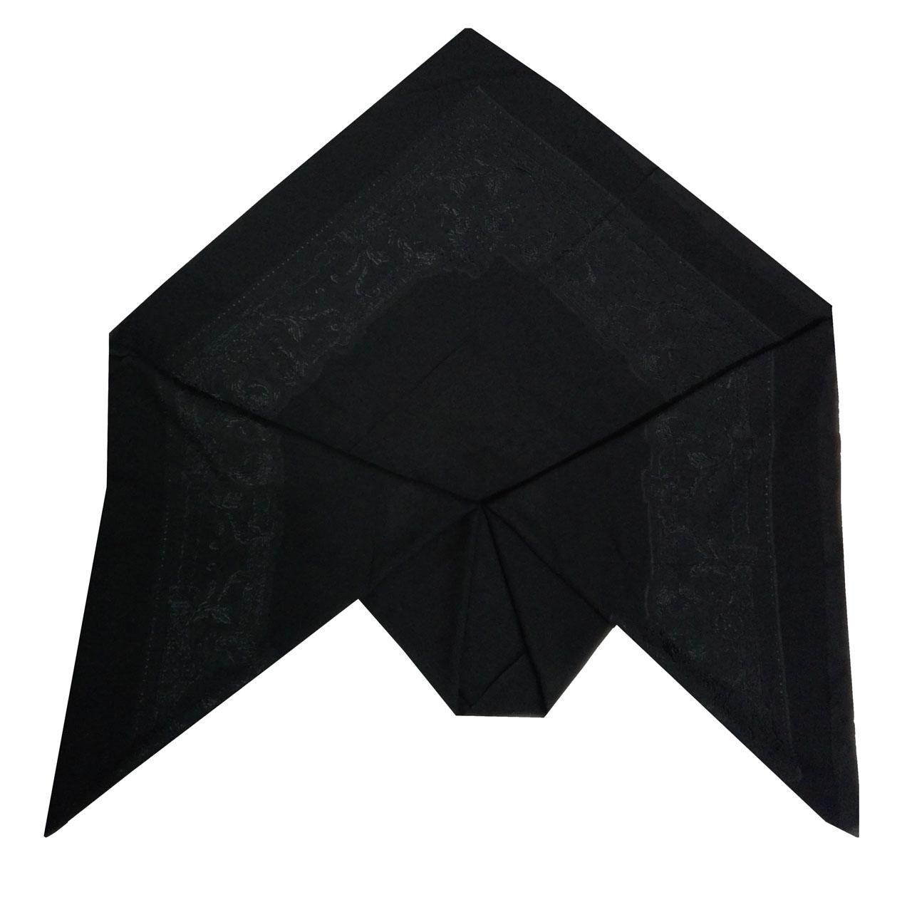 روسری زنانه توتو طرح گل برجسته مدل 03