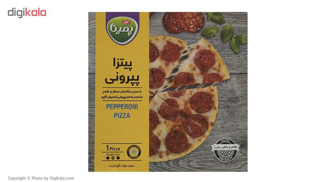 پیتزا پپرونی پمینا کاله مقدار 290 گرم main 1 1