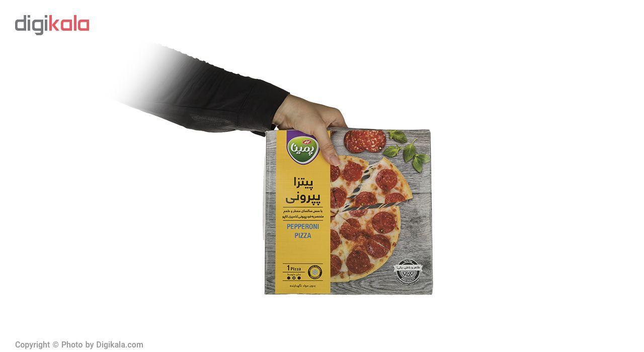 پیتزا پپرونی پمینا کاله مقدار 290 گرم main 1 4