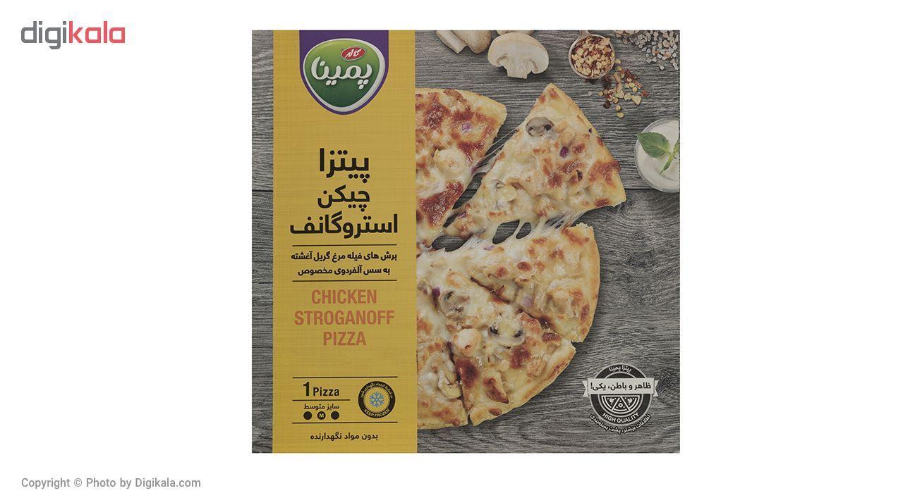 پیتزا چیکن استروگانف پمینا کاله مقدار 360 گرم main 1 1