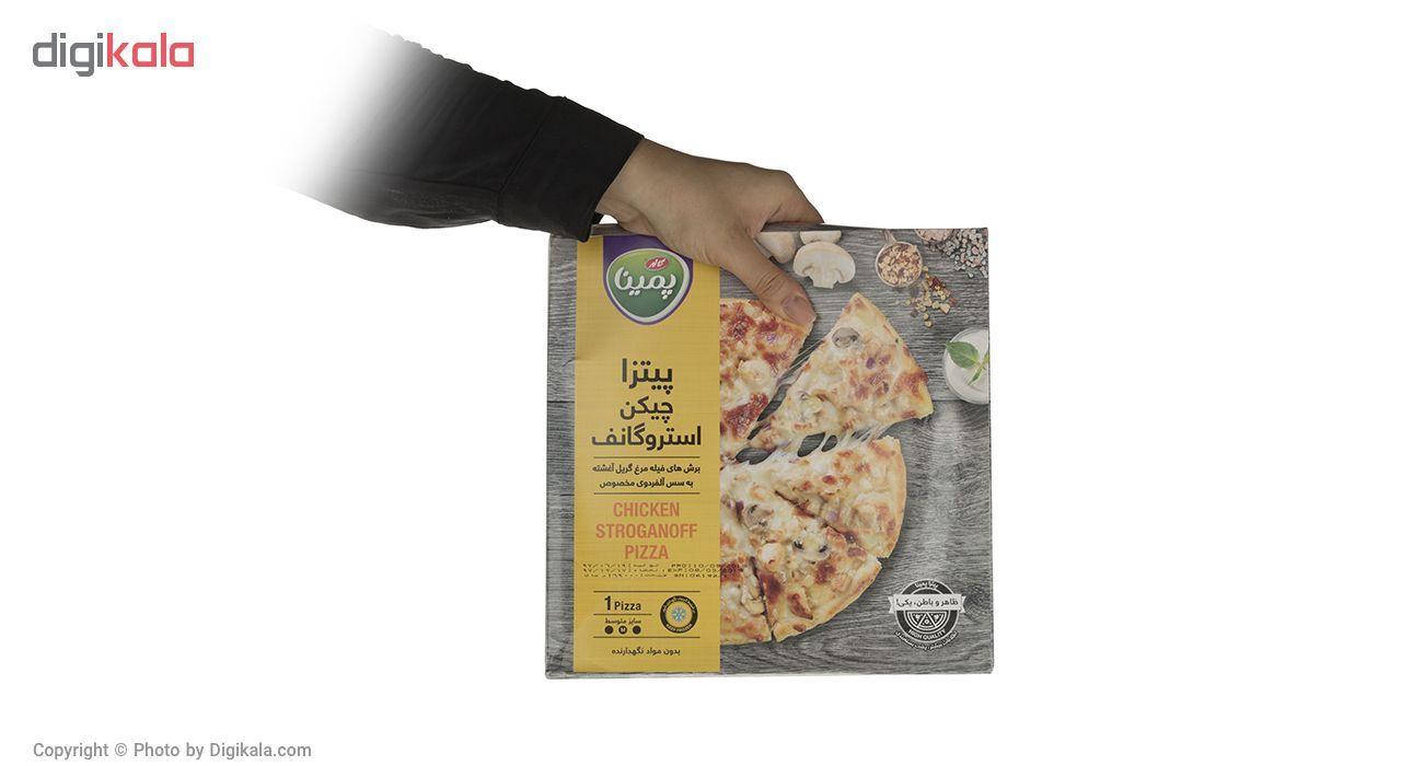 پیتزا چیکن استروگانف پمینا کاله مقدار 360 گرم main 1 4