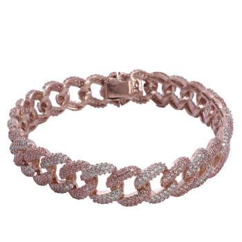 دستبند نقره زنانه مدل 78