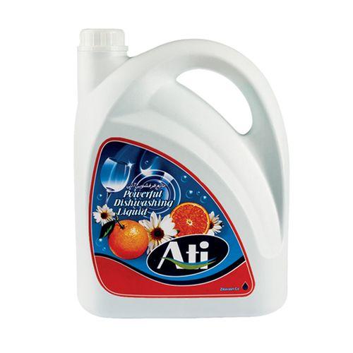 مایع ظرفشویی آتی مدل فرمیک با رایحه پرتقال وزن 3750 گرم