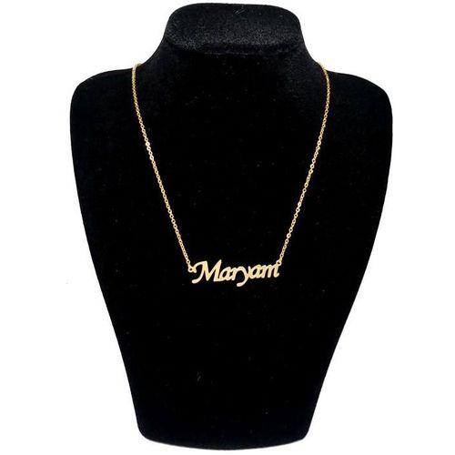 گردنبند نقره طرح اسم مریم کد 03