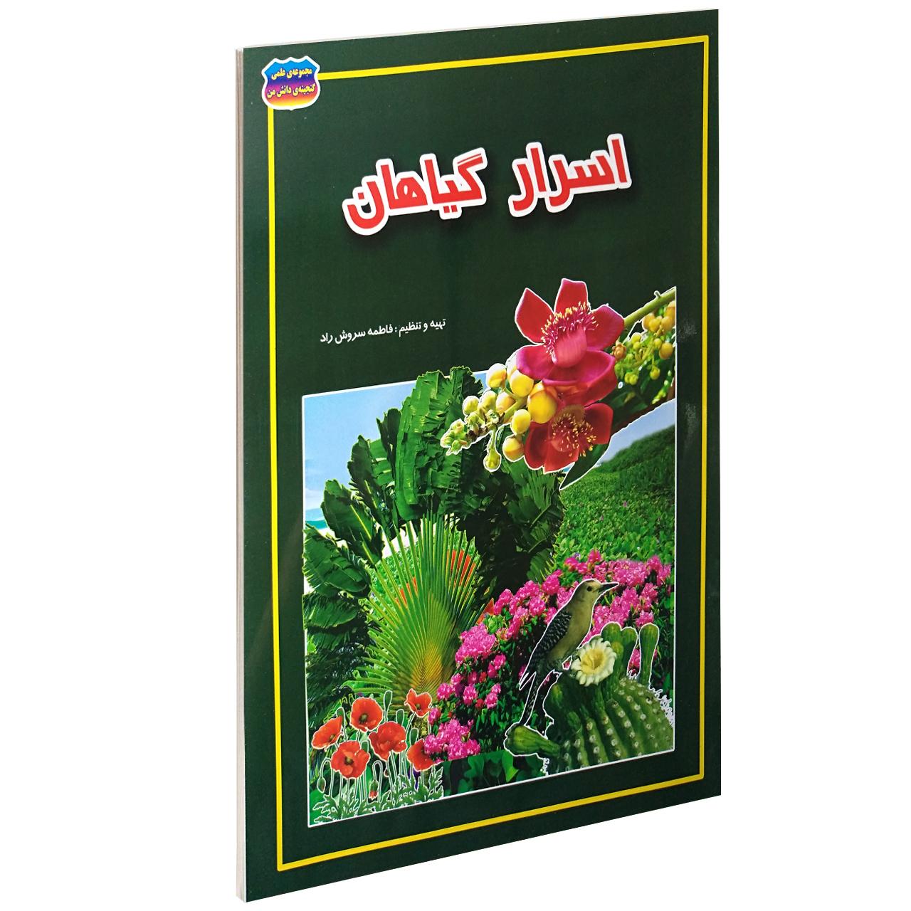 خرید                      کتاب اسرار گیاهان اثر فاطمه سروش راد