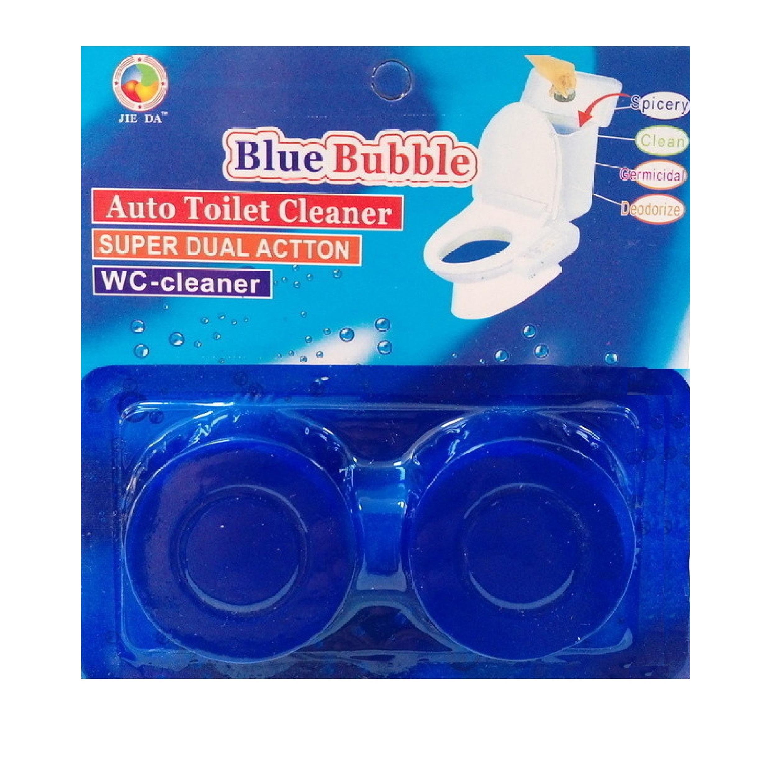 خرید اینترنتی قرص جرم گیر توالت فرنگی Blue Bubble مدل 777بسته 2 عددی