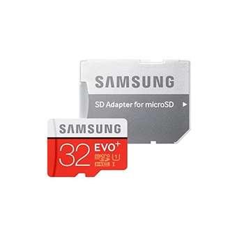 کارت حافظه microSDHC  مدل Evo Plus کلاس 10 استاندارد UHS-I U1 سرعت 100MBps همراه با آداپتور SD ظرفیت 32 گیگابایت