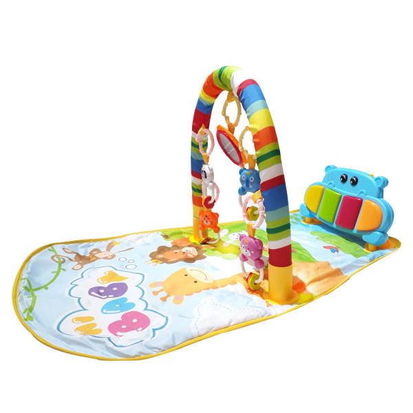 تشک بازی پیانودار مدل hippopotamus