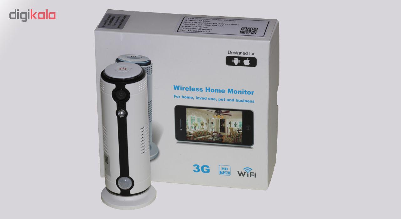 خرید اینترنتی                     دوربین مداربسته سیم کارتی تیوا مدل TM100