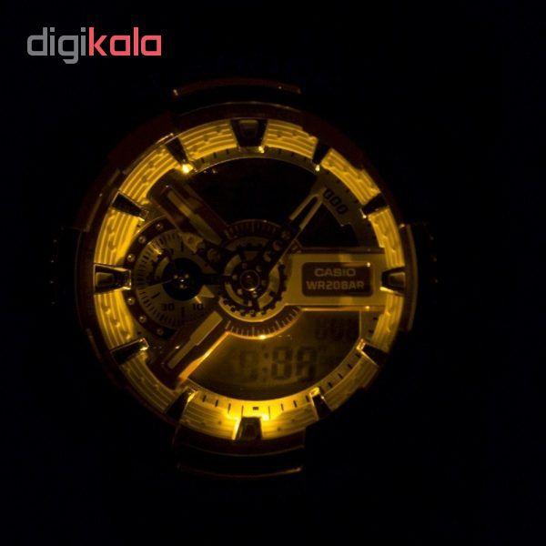 ساعت  کاسیو GA-110CS-4ADR