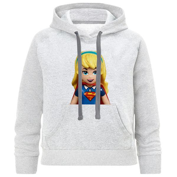 هودی بچگانه مدل Super Girl C01