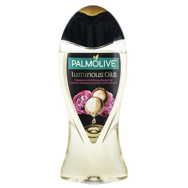 شامپو بدن پالمولیو سری Luminous Oils مدل Macadamia حجم 250 میلی لیتر