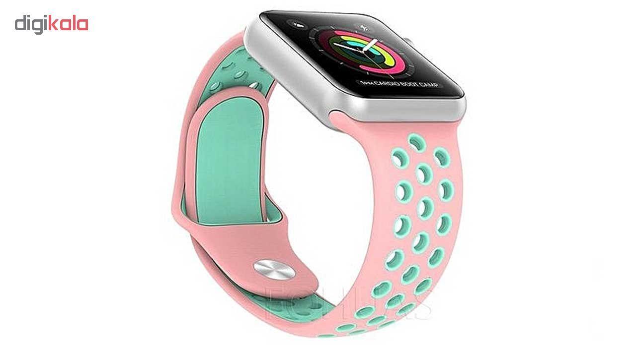 ساعت هوشمند مدل  iWO-s  همراه دو بند اضافه نایک و محافظ صفحه نمایش و بگ شیدتگ main 1 26