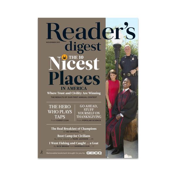 مجله ریدرز دایجست - نوامبر 2017