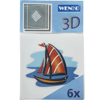 استیکر کاشی ونکو مدل boat بسته 6 عددی
