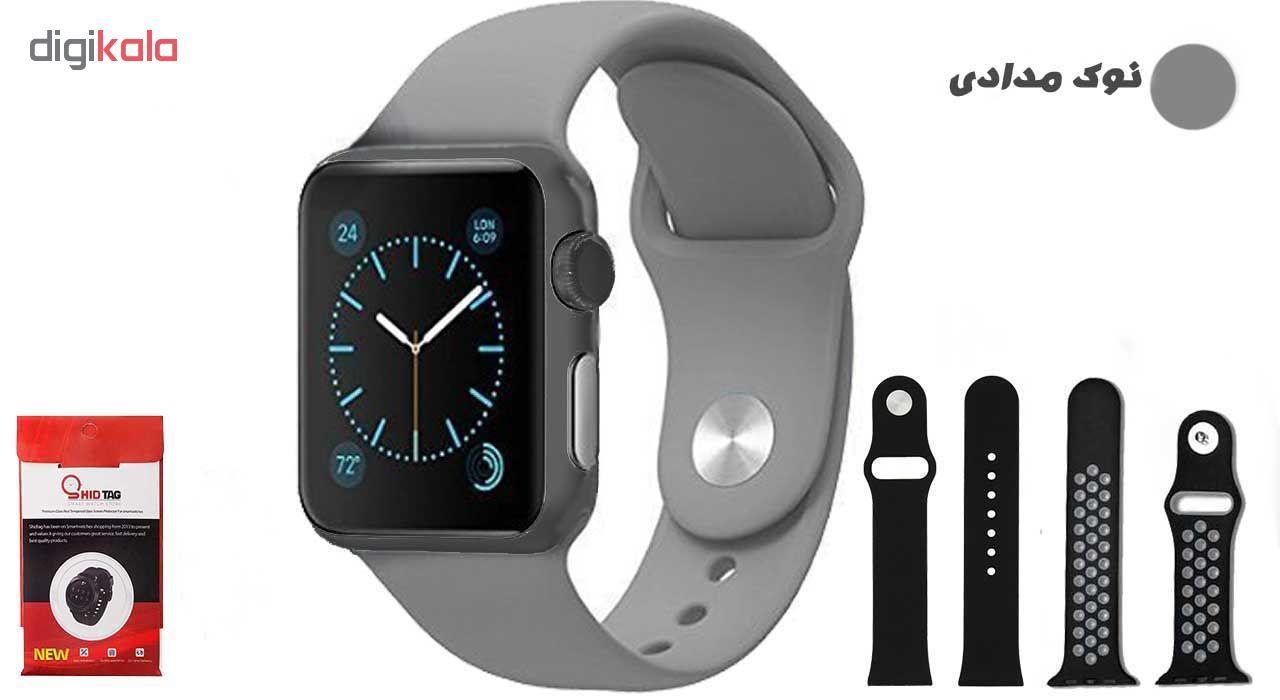 ساعت هوشمند مدل  iWO-s  همراه دو عدد بند اضافه main 1 3