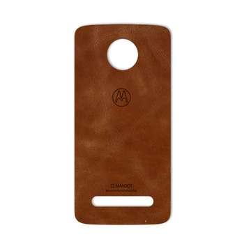 برچسب پوششی ماهوت مدل Buffalo Leather مناسب برای گوشی Motorola Moto Z2 Force