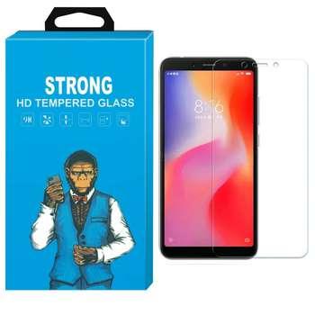 محافظ صفحه نمایش شیشه ای استرانگ مدل مانکی  مناسب برای گوشی Xiaomi Redmi 6A