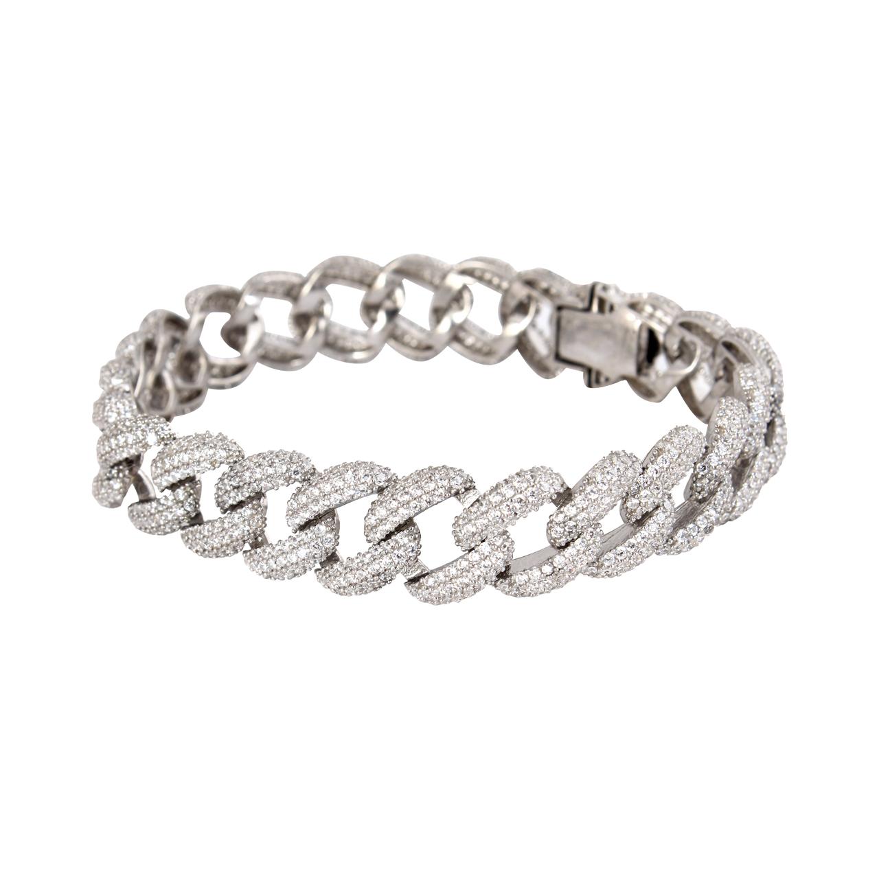 قیمت دستبند نقره زنانه مدل kariteh کد 180158
