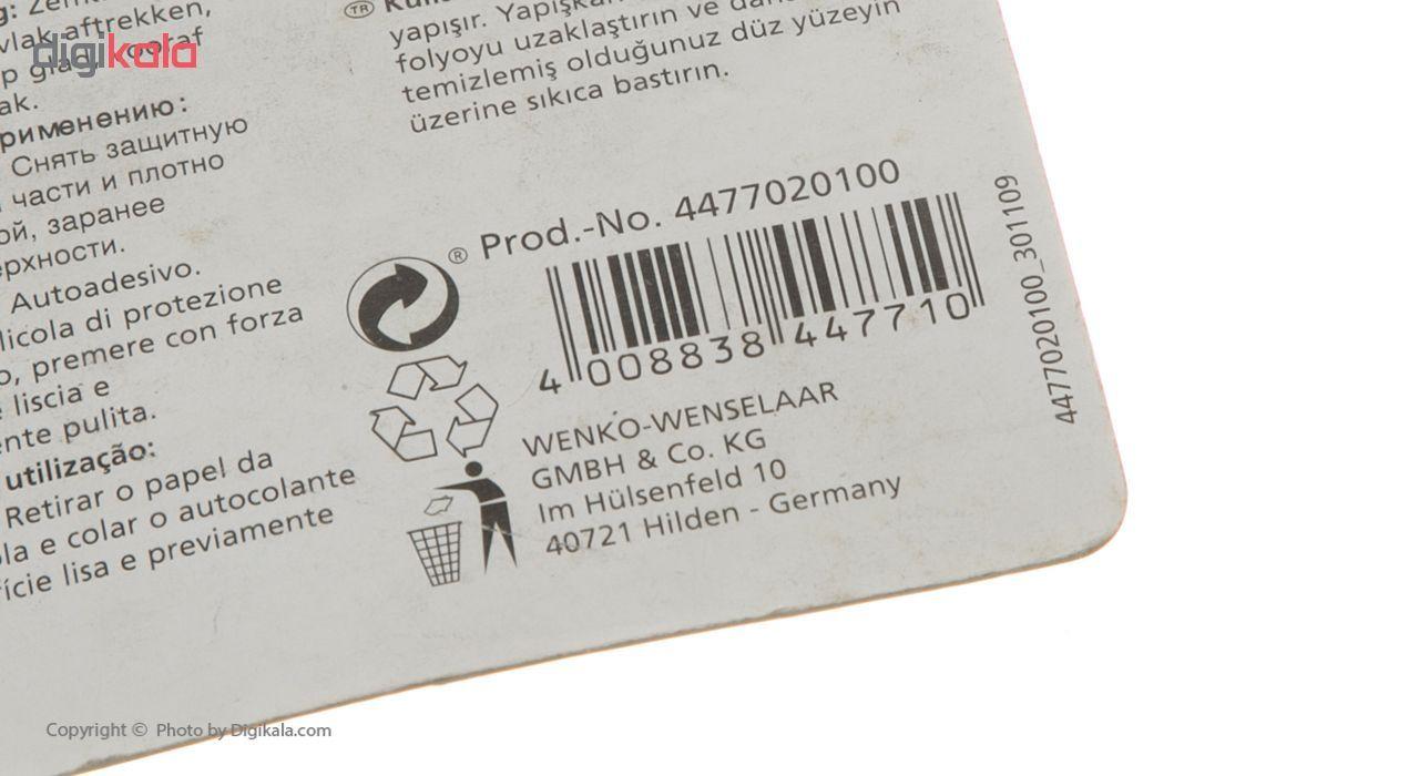 آویز حوله حمام ونکو مدل Kunststoff-2er بسته 2 عددی main 1 4