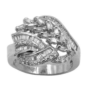 انگشتر طلا 18 عیار جواهری سون مدل 2031 |