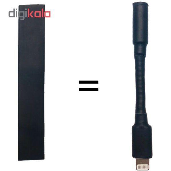 محافظ کابل شارژ به هدفون مدل Termic مناسب برای کابل تبدیل صدای اپل main 1 1