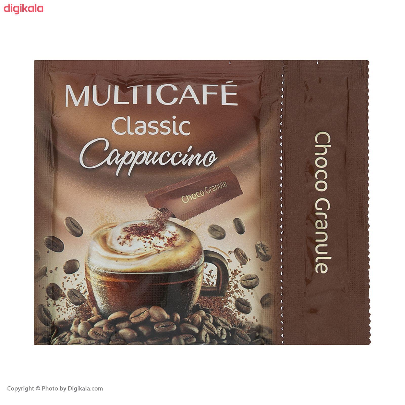 پودر قهوه فوری مخلوط کلاسیک مولتی کافه  - 18 گرم بسته 24 عددی main 1 2