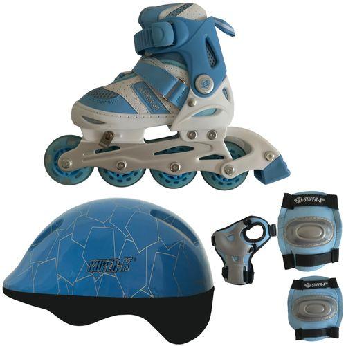 اسکیت کفشی اپکس  مدل MP112-BLUE