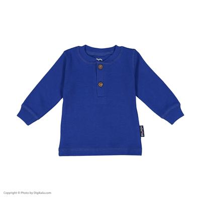 تی شرت نوزادی پسرانه آدمک مدل 2171118-79