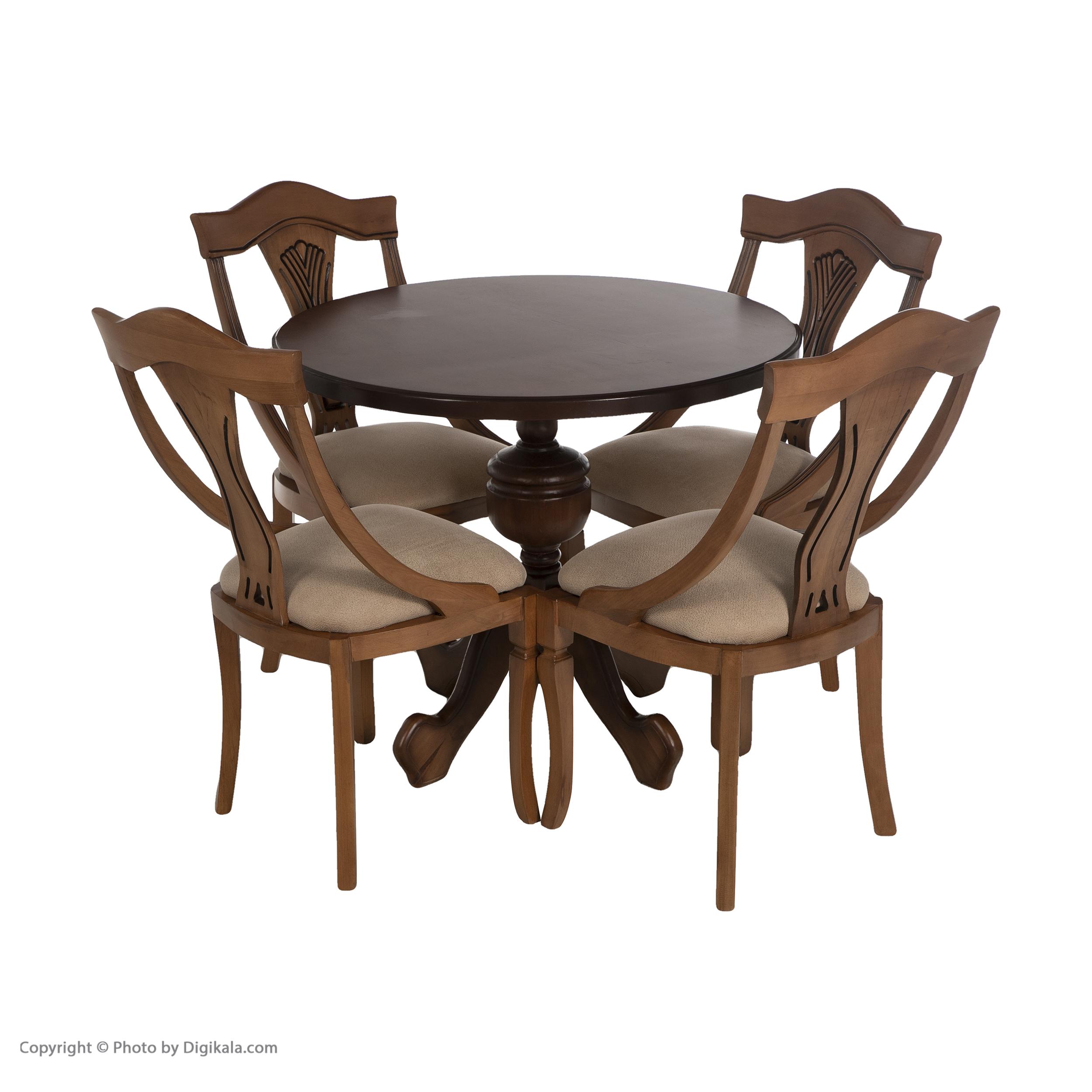 قیمت                      میز و صندلی ناهارخوری مدل گیتاری سه بعدی کد 10002