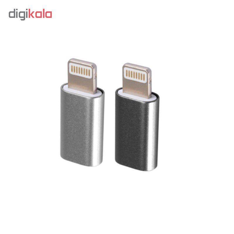 مبدل micro USB به لایتنینگ مدل SH8 main 1 1