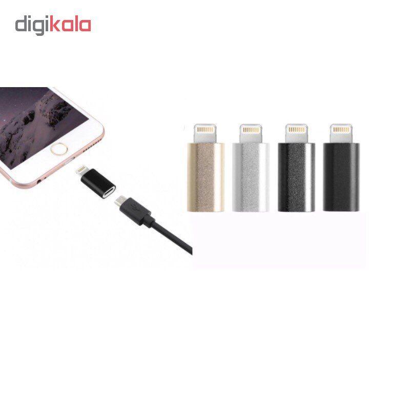 مبدل micro USB به لایتنینگ مدل SH8 main 1 3