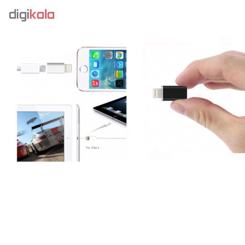 مبدل micro USB به لایتنینگ مدل SH8 main 1 4
