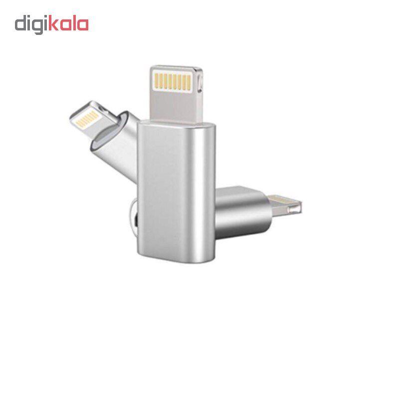 مبدل micro USB به لایتنینگ مدل SH8 main 1 6