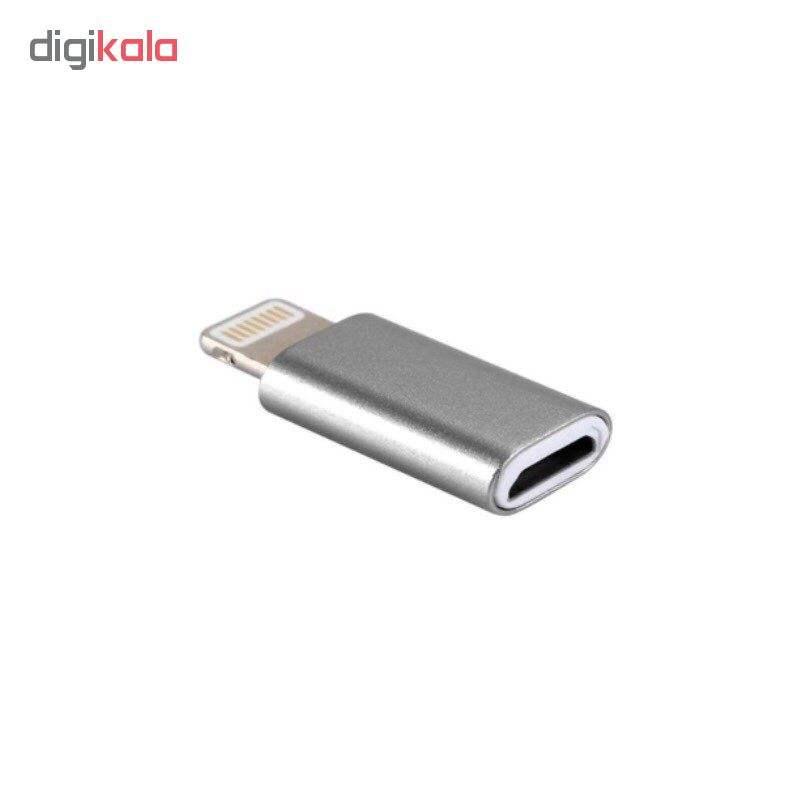 مبدل micro USB به لایتنینگ مدل SH8 main 1 7