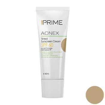 کرم ضد آفتاب رنگی پریم سری Acnex مدل Medium حجم 40 میلی لیتر