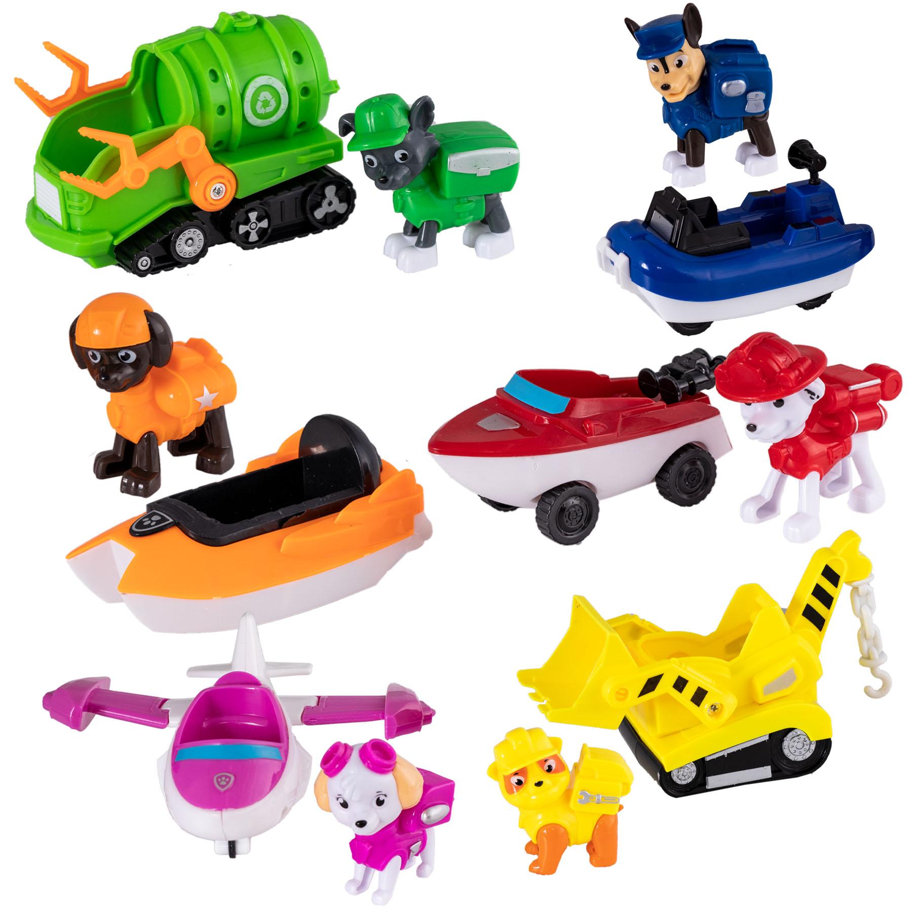 اسباب بازی سگهای نگهبان  مدل دریایی مجموعه 6 عددی