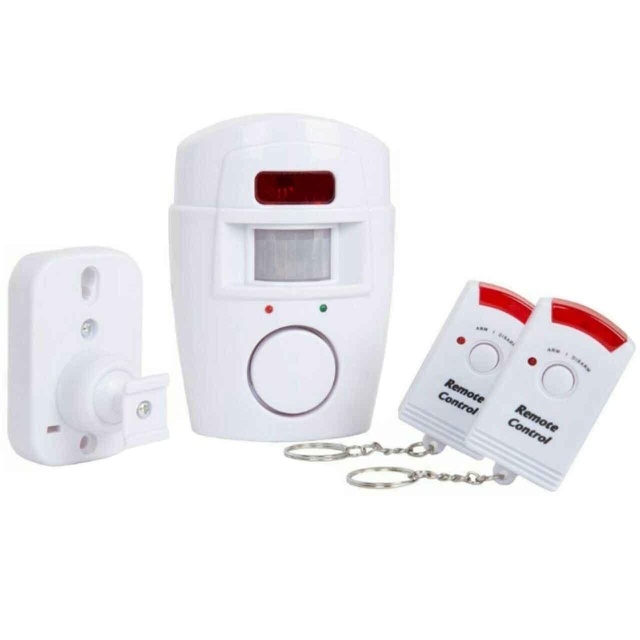 سیستم حفاظتی امنیتی دزدگیر بی سیم چشمی آژیردار مدل 105db