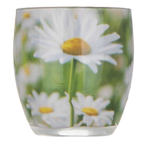 شمع لیوانی گیس مدل daisy meadow