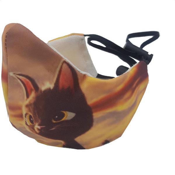 ماسک تزیینی بچگانه کالای ورزشی پروین مدل گربه