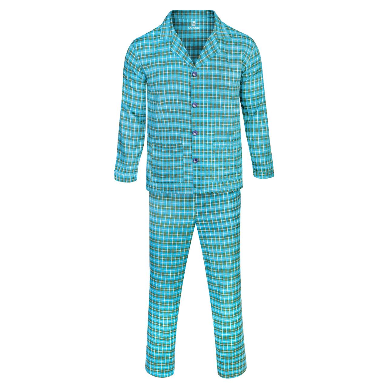 ست لباس راحتی مردانه ساروک مدل کشمیر کد04