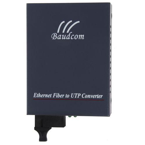 مبدل فیبر نوری به اترنت تک حالته بادکام مدل BD-100M-BI Tx1310nm