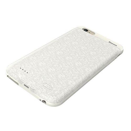 کاور شارژ باسئوس مدل Plaid Backpack ظرفیت 2500 میلی آمپر ساعت مناسب برای گوشی موبایل اپل آیفون 6