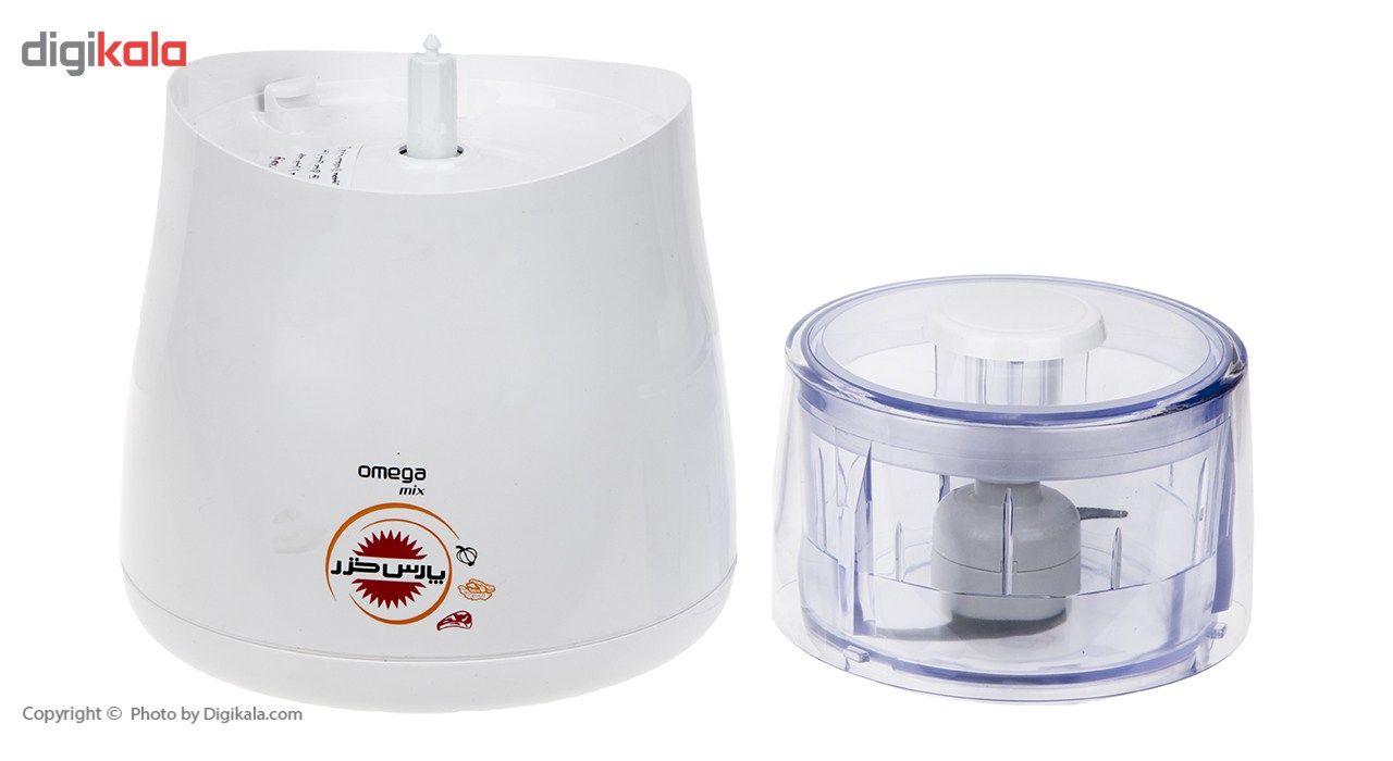 خردکن پارس خزر مدل Omega main 1 3