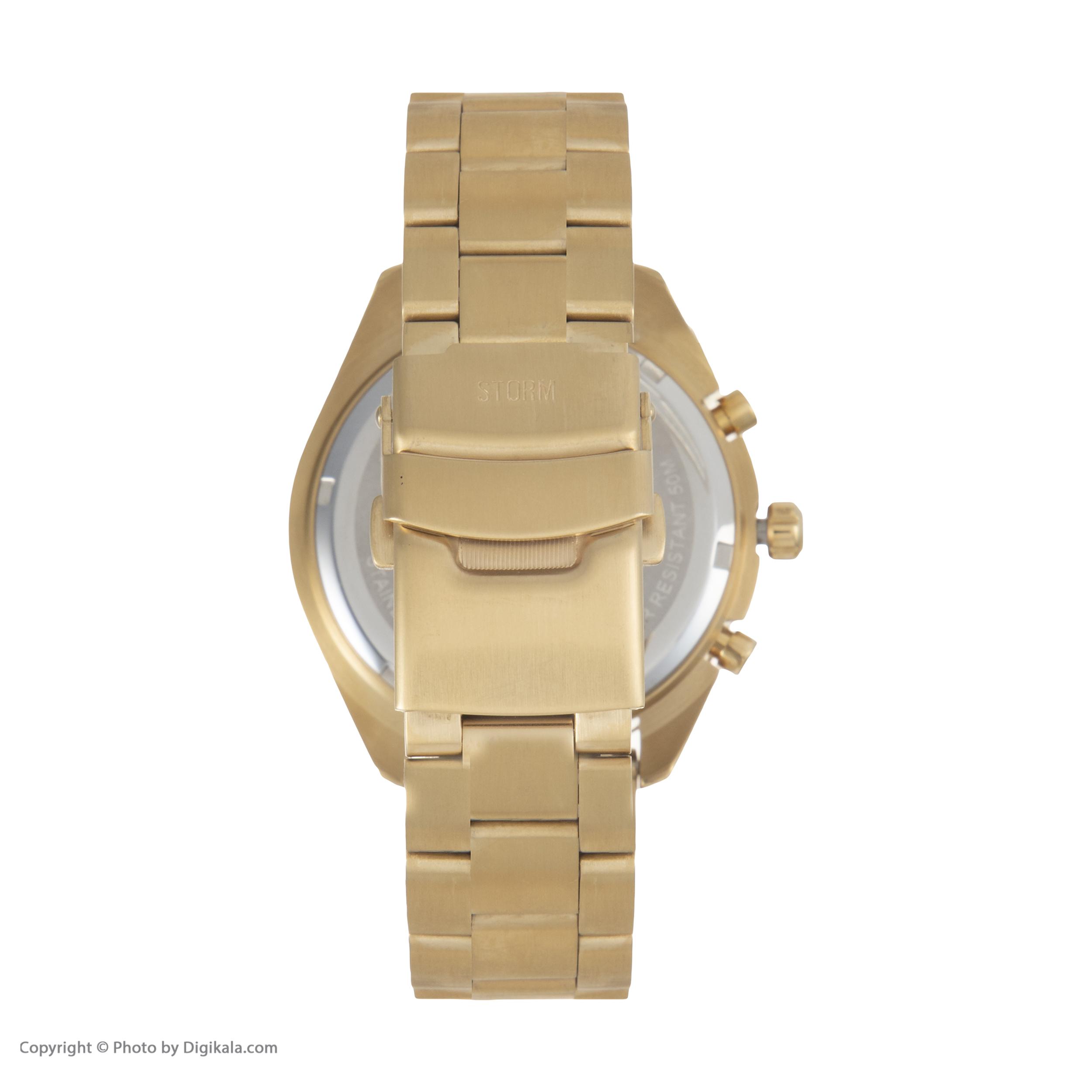 ساعت مچی عقربه ای مردانه استورم مدل ST 47317-GD              ارزان