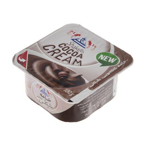 خامه شکلاتی شکلی مقدار 100 گرم