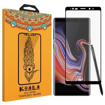 محافظ صفحه نمایش شیشه ای کوالا Full Cover مدل  616 مناسب برای گوشی موبایل سامسونگ Galaxy Note 9