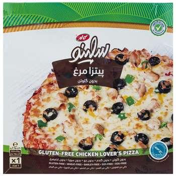 پیتزا مرغ بدون گلوتن سلینو کاله مقدار 350 گرم