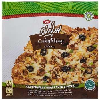پیتزا گوشت بدون گلوتن سلینو مقدار 350 گرم